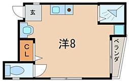ポルベニール[3階]の間取り