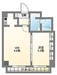 南堀江アパートメントグランデ[2階]の間取り