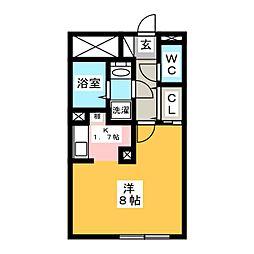LUORE名駅[1階]の間取り