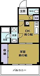 綿谷第2マンション[5階]の間取り