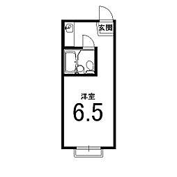 グローアップ京都[2階]の間取り