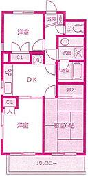 CASSIAたまプラーザ(旧ヴェルデたまプラーザ)[1階]の間取り