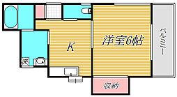 ツインハウス[2階]の間取り