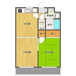 Apartment Lupinas 〜マンションルピナス〜[3階]の間取り