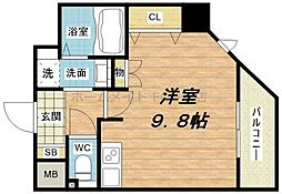S-RESIDENCE Hommachi Marks[15階]の間取り
