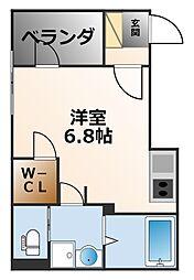 ハーモニーテラス鳴尾町[2階]の間取り