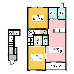 松並木[2階]の間取り