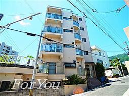 兵庫県神戸市灘区曾和町3丁目の賃貸マンションの外観
