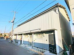 大阪府堺市西区津久野町2丁の賃貸アパートの外観