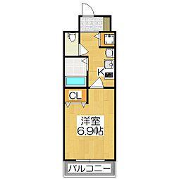 サムティ祇園河原町[5階]の間取り
