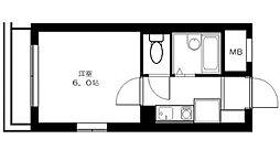 ピースフルハウス[3階]の間取り