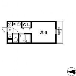 カサデルチルコ[413号室号室]の間取り