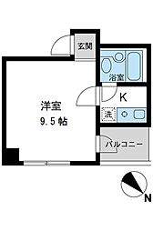 S-FORT日本橋箱崎[903号室]の間取り