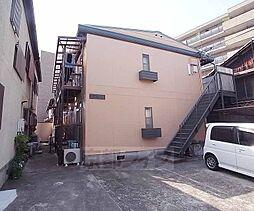 京都府京都市左京区高野蓼原町の賃貸アパートの外観