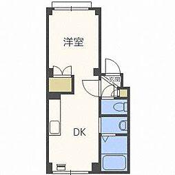 アーバンマンション2[3階]の間取り