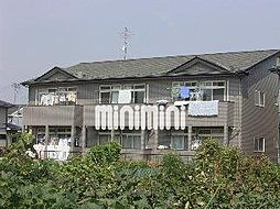 宮城県仙台市太白区中田7丁目の賃貸アパートの外観