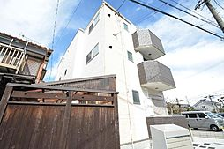 愛知県名古屋市北区志賀町1丁目の賃貸アパートの外観