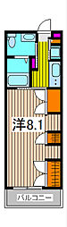 埼玉県さいたま市南区鹿手袋2丁目の賃貸マンションの間取り