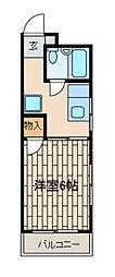 ロードサイドハウス[4階]の間取り