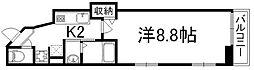 京都府京都市下京区神明町の賃貸マンションの間取り