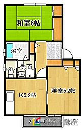 JR香椎線 土井駅 徒歩17分の賃貸アパート