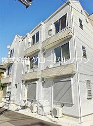 東京都荒川区南千住2丁目の賃貸アパートの外観