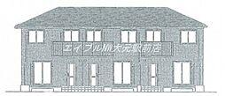 [テラスハウス] 岡山県岡山市南区万倍丁目なし の賃貸【/】の外観
