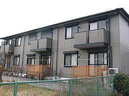 神奈川県大和市上草柳5丁目の賃貸アパートの外観
