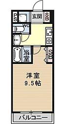 郁文館3[801号室号室]の間取り