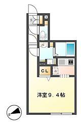 Branche千代田 (ブランシェ)[3階]の間取り