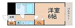 リーガル塚本[8階]の間取り