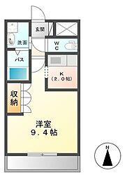 サンクチュアリ I[1階]の間取り
