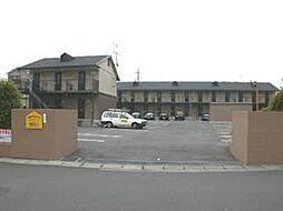 ベルメゾンTTA棟[2階]の外観