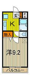 アーケティックマンションIII[305号室]の間取り