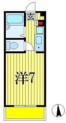 センチュリー91西船[3階]の間取り