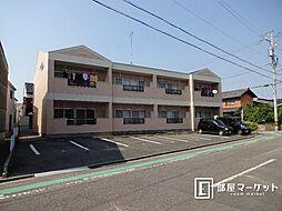 愛知県岡崎市針崎1丁目の賃貸アパートの外観