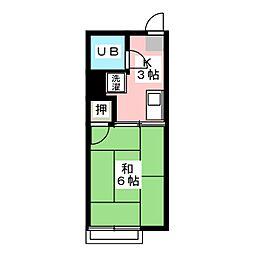 シティハイム本山[1階]の間取り