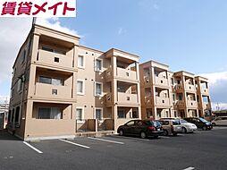 三重県四日市市城西町の賃貸マンションの外観