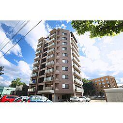 北海道札幌市北区北十六条西5丁目の賃貸マンションの外観