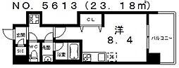 Front Field 天王寺[8階]の間取り