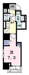 神奈川県川崎市川崎区大島2丁目の賃貸マンションの間取り