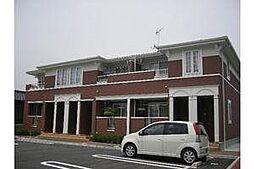 愛知県岡崎市二軒屋町2丁目の賃貸アパートの外観