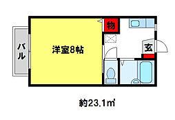 シャルム21[107号室]の間取り