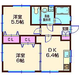 SY989[1階]の間取り