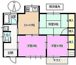 [一戸建] 長野県長野市篠ノ井布施五明 の賃貸【/】の間取り