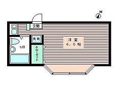 東京都練馬区豊玉中2丁目の賃貸マンションの間取り