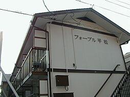 愛知県名古屋市熱田区六番3丁目の賃貸アパートの外観