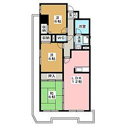 U&Hビル[2階]の間取り