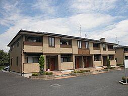茨城県取手市戸頭の賃貸アパートの外観