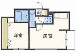 リュクスN22[2階]の間取り